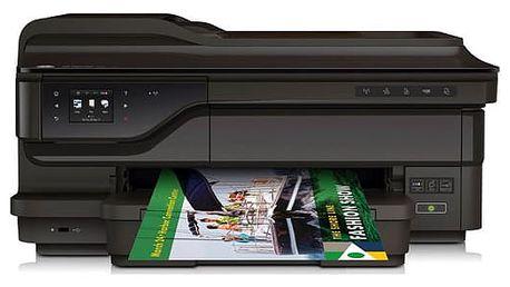 Tiskárna multifunkční HP 7612wf (G1X85A#A80) černá A3, 15str./min, 8str./min, 4800 x 1200, 256 MB, duplex, WF, USB + DOPRAVA ZDARMA