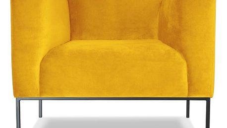 Žluté křeslo Windsor&Co. Sofas Neptune