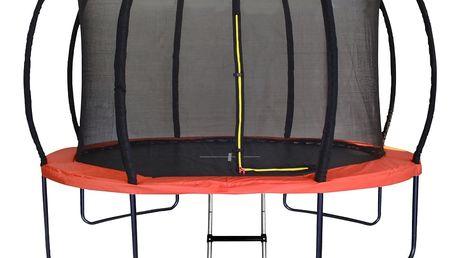 Marimex | Trampolína Marimex Premium 366 cm + vnitřní ochranná síť + schůdky ZDARMA | 19000059