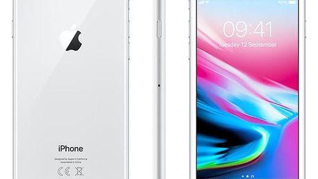 Mobilní telefon Apple iPhone 8 64 GB - Silver (MQ6H2CN/A) + DOPRAVA ZDARMA