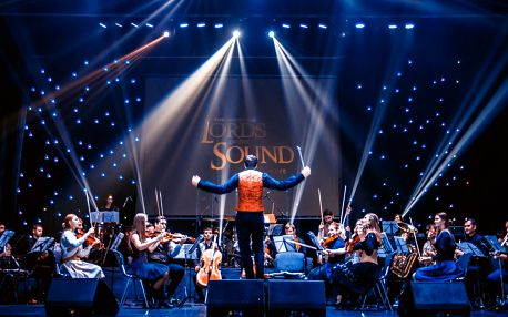 Vstupenka na show orchestru Lords of the Sound