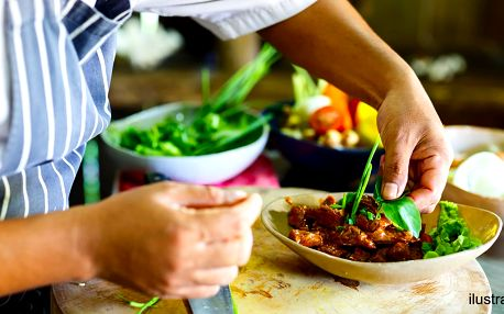 Kurz vaření asijských specialit a nákup v Sapě