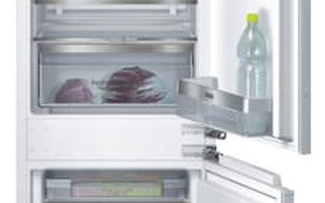 Chladnička s mrazničkou Siemens KI86SAD40 bílá + DOPRAVA ZDARMA