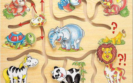 BINO Hra - Najdi hlavu zvířátek