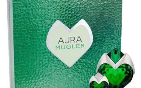 Thierry Mugler Aura dárková kazeta pro ženy parfémovaná voda naplnitelná 50 ml + parfémovaná voda 5 ml