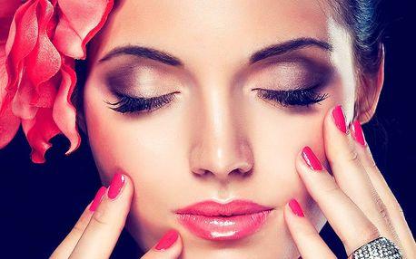 Pečující balíček: kosmetika, manikúra, solárium