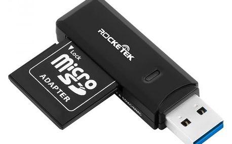 USB čtečka paměťových karet s indikačním světlem