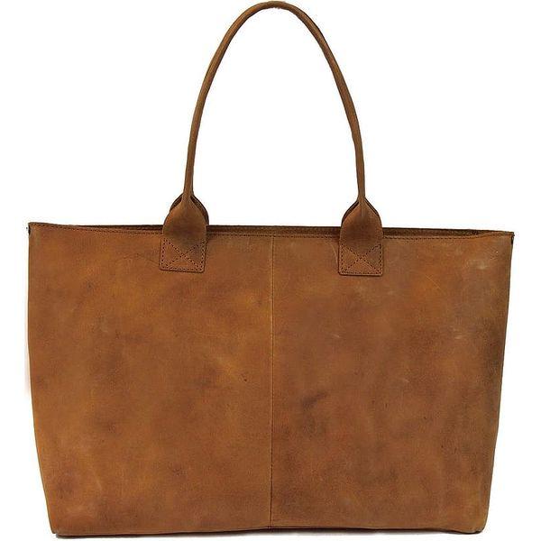 Hnědá kožená vintage kabelka O My Bag Madam Rose - doprava zdarma!3