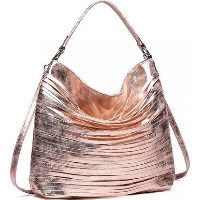 Dámská růžovo zlatá kabelka Isobelle 1811