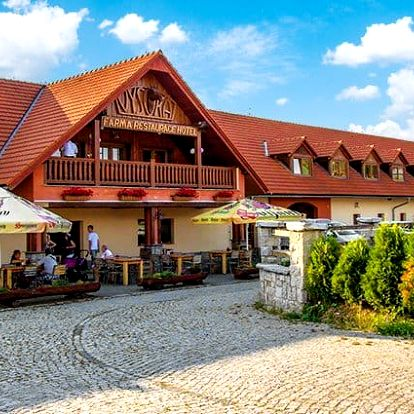 3–5denní pobyt pro 2 i rodinu s polopenzí v hotelu Farma Vysoká*** v Jizerkách