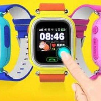 Dětské hodinky pro bezpečnost Vašich dětí s GPS a HD displejem