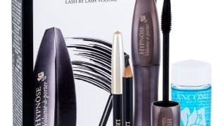 Lancome Hypnose Volume-A-Porter dárková kazeta pro ženy řasenka Hypnose Volume-A-Porter 6,5 ml + odličovací přípravek Bi Facil 30 ml + tužka na oči Le Crayon Khol 0,7 g 01 Black