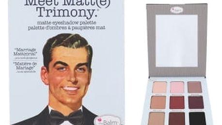 TheBalm Meet Matt(e) Trimony Eyeshadow Palette 21,6 g oční stín pro ženy