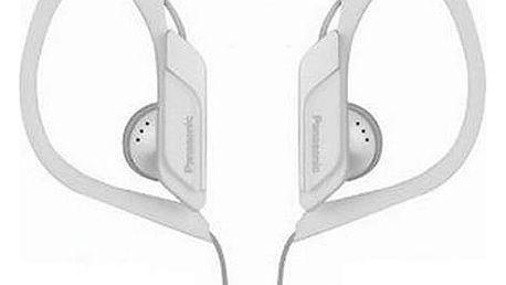 Sportovní sluchátka Panasonic RP-HS34E Bílý