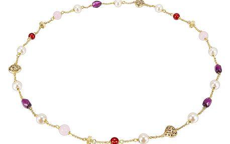 Dámský náhrdelník zlaté barvy Runaway Haiti