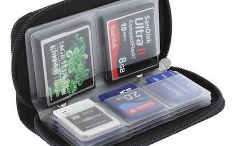 Zapínací pouzdro na paměťové karty - dodání do 2 dnů
