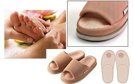 Akupresurní pomoc od bolesti! Pantofle masáž prstů: bolest zad, ramen, únava očí