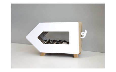 Transparentní kasička Unlimited Design for kids Prasátko