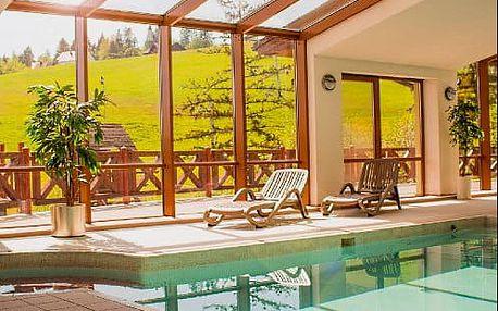 Neomezený wellness pobyt s bazénem v lázeňských Vyšných Ružbachách v zbrusu novém resortu