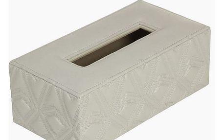 Šedá krabička na kapesníčky by Homania