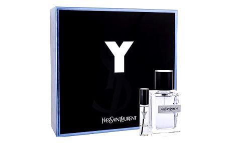 Yves Saint Laurent Y dárková kazeta pro muže toaletní voda 60 ml + toaletní voda 10 ml