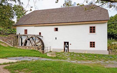 Porčův mlýn s polopenzí s wellness