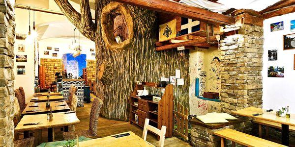 Dárkový voucher na cokoli z menu v řecké taverně