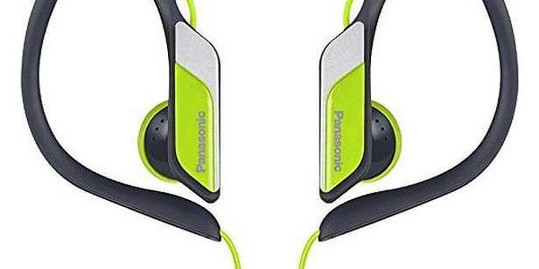 Sportovní sluchátka Panasonic RP-HS34E Limeta