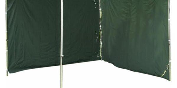 Garthen PROFI 427 Sada 2 bočních stěn pro zahradní stany 3 x 3 m - zelená