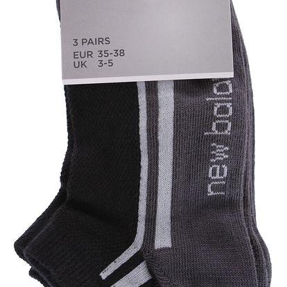 Sportovní ponožky New Balance - 3 ks