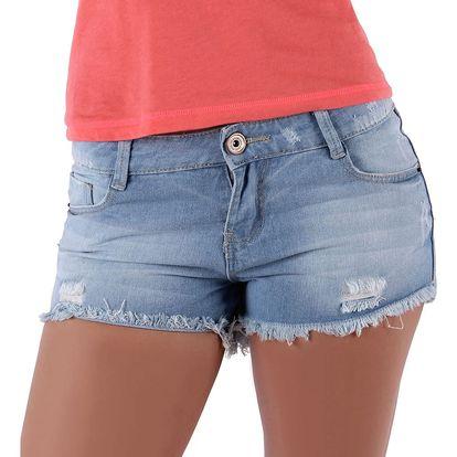 Dámské jeansové šortky Sublevel