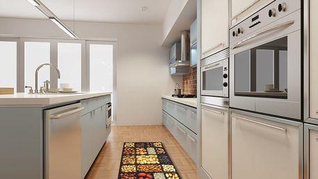 Vysoce odolný kuchyňský běhoun Webtappeti Semi, 60x220 cm