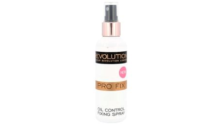 Makeup Revolution London Pro Fix Oil Control Spray 100 ml fixátor makeupu pro ženy