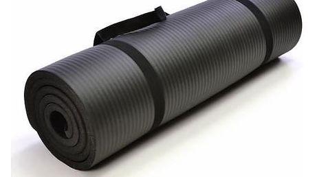 Garthen 2265 Gymnastická podložka 190 x 60 x 1,5 cm - černá