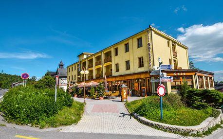 LAST MINUTE v hotelu Smokovec v Tatrách u lanovky na Hrebienok