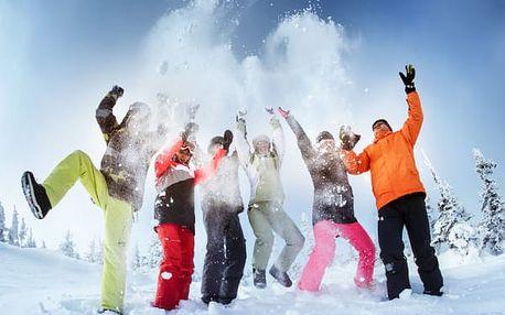 Last minute pobyt na Dvorské boudě. Sněhové radovánky a lyžování i v dubnu