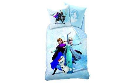 CTI Povlečení Frozen Enjoy (Ledové království) 140x200 70x90