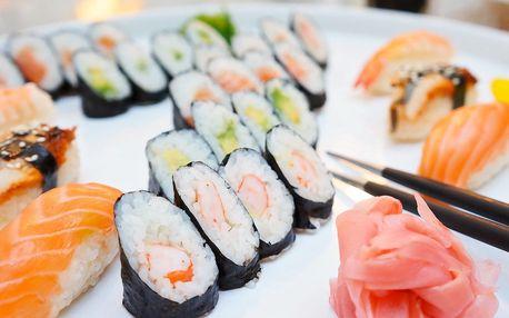 Sushi set pro 1 nebo 2 v restauraci Tanuki