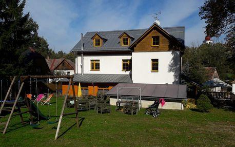 Orlické hory, Hrad Sedloňov, týdenní pobyt pro 2 osoby s kuchyňkou