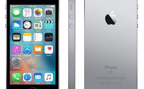 Mobilní telefon Apple iPhone SE 128 GB - Space Grey (MP862CS/A) + DOPRAVA ZDARMA