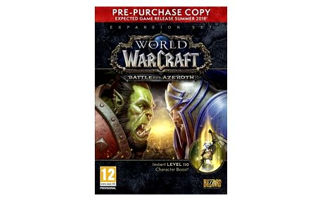 Hra Blizzard PC World of Warcraft Battle for Azeroth PPO Box (5030917225819)
