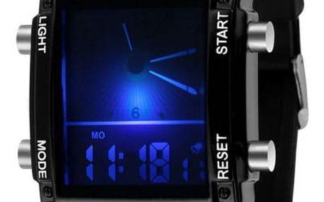 Digitální hodinky pro pány - 2 barvy