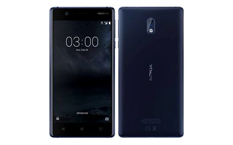 Nokia 3 Single SIM (11NE1L01A12) modrý