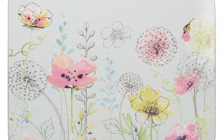 Sada 4 korkových prostírání Creative Tops Watercolour
