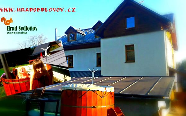 Orlické Hory, týdenní pobyt s rodinnou a polopenzí v Sedloňově