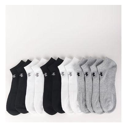 Ponožky Under Armour Charged Cotton 2.0 Noshow (6 Pack) Barevná