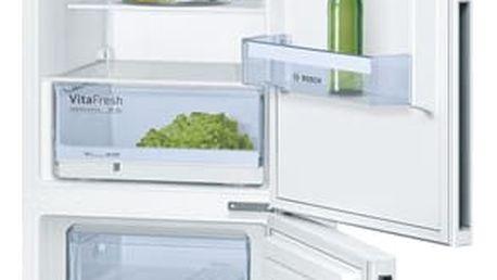 Chladnička s mrazničkou Bosch KGV39VW31S bílá + DOPRAVA ZDARMA