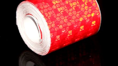 Bezpečnostní reflexní páska - 3 m - 5 barev