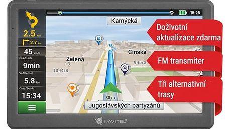 Navigační systém GPS Navitel E700 černá (C2047024)