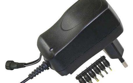Napájecí adaptér EMOS pulzní 600mA s hřebínkem (SWP600)